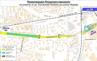 Реконструкция волгоградского проспекта схема 955